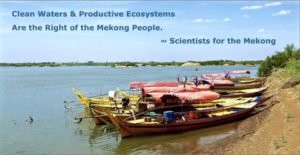 Mekong River- Kampi Dolphin Pools, north of Kratie, Cambodia