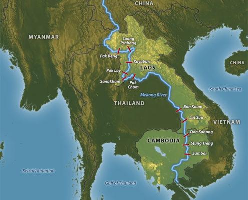 MAP Mekong River www.stratfor.com